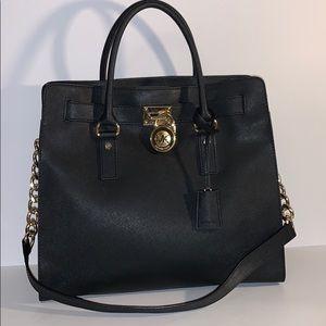 Michael Kors Large Black Hamilton Tote bag